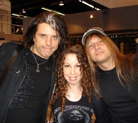 Laura Christine and Alex Skolnick and Christopher Caffery