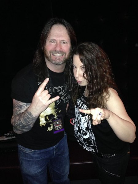 Laura Christine and Gary Holt